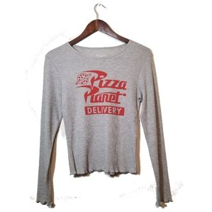 Toy Story Pizza Planet Long Sleeve T-Shirt Junior